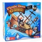 桌遊玩具 船轉企鵝 海盜企鵝疊疊樂 諾亞...