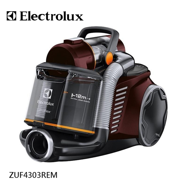 (特別賣場)送風動吸頭【伊萊克斯Electrolux】臥式插電雙通道旋風鎖塵吸塵器