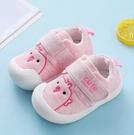 兒童鞋 學步鞋春款防滑軟底女0一1-2歲加絨棉布鞋子10個月男寶寶【快速出貨八折下殺】