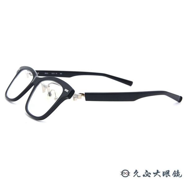 999.9 日本神級眼鏡 NPM55 9001 (黑) 翻轉式鏡架 近視眼鏡 久必大眼鏡