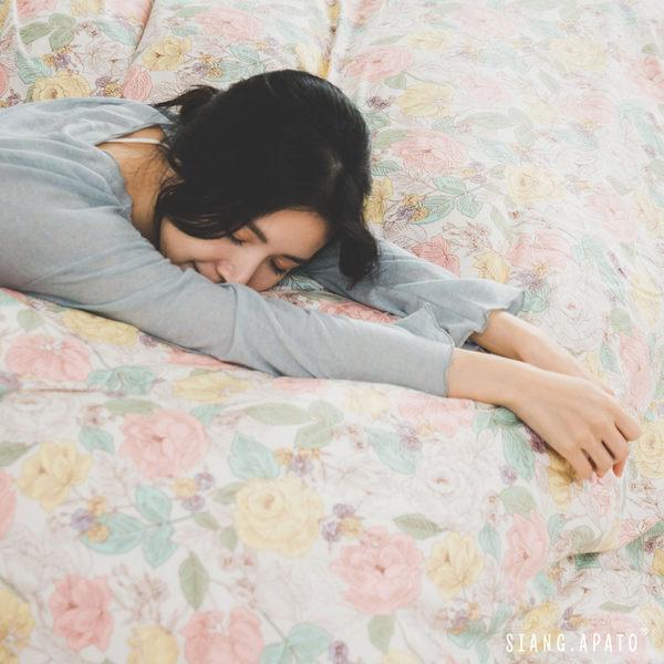 兩用被套床包組-雙人【Blossom】ikea風格 100%精梳棉 純棉 翔仔居家