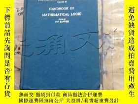 二手書博民逛書店Handbook罕見of Mathematical Logic,