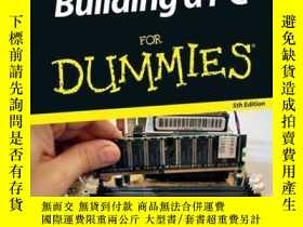 二手書博民逛書店Building罕見a PC For Dummies, 5th EditionY410016 Mark L.