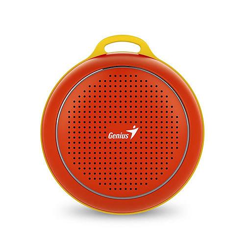 Genius 昆盈 彩色精靈 SP-906BT-RD 魔力紅 攜帶式 藍牙喇叭