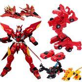 爆速合體暴速報數獵車獸魂2爆裂男孩變形機器人機甲金剛飛車3玩具