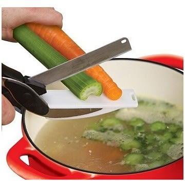 多功能便攜切菜砧板剪刀