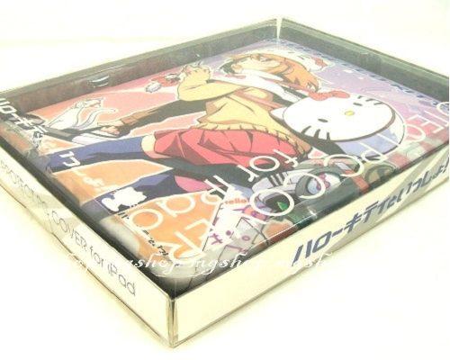 [iPad專區]日本原裝 蘋果APPLE iPad保護殼-Hello Kitty 動漫秋葉系萌系女孩(紫色)