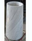 【麗室衛浴】天然大理石 洗臉盆 ZP09 落地立柱 33*43*85cm