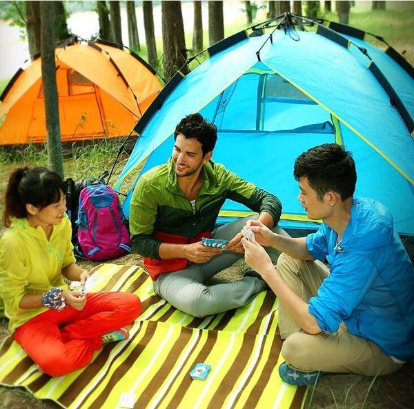 帳篷 駱駝帳篷戶外野營加厚3-4人全自動防暴雨單雙2人野外露營家用裝備【快速出貨八折下殺】