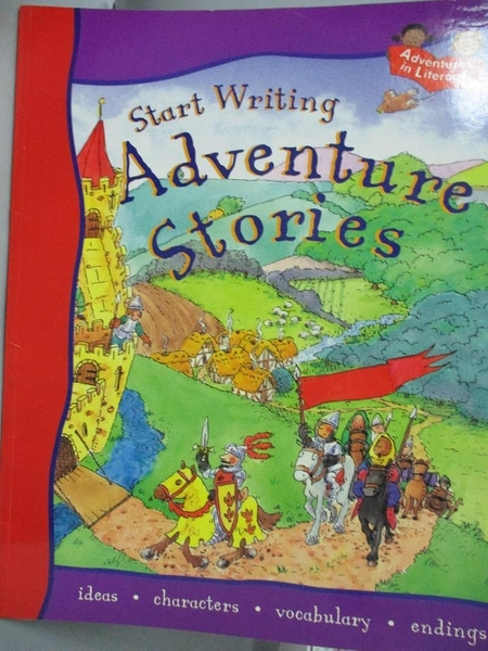 【書寶二手書T8/兒童文學_XGU】START WRITING ADVENTURE STORIES_Penny King