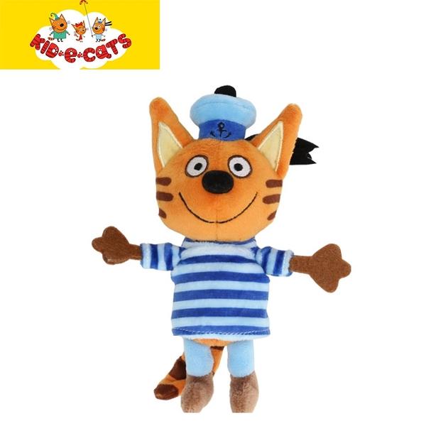 KID E CATS 綺奇貓 6吋可愛造型毛公仔 餅乾
