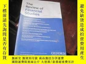 二手書博民逛書店The罕見Review of Financial studies