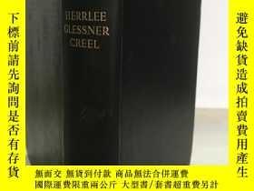 二手書博民逛書店1936年一版一印 THE罕見BIRTH OF CHINA 中國