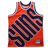 MITCHELL & NESS M&N 太陽 橘 背心 BIG FACE 球衣 (布魯克林) MN20AJE01PS