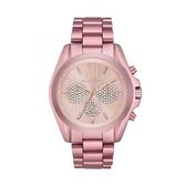 【Michael Kors】美式經典優雅粉紅時光設計腕錶-香檳粉/MK6752/台灣總代理公司貨享兩年保固
