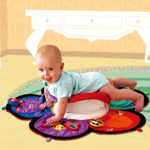 【奇買親子購物網】Lamaze 拉梅茲 嬰幼兒玩具-地墊轉轉樂