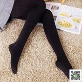 絲襪 春秋款大碼絲襪連褲襪中厚連體襪褲女薄款秋季黑色秋冬打底褲襪子 霓裳細軟