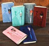 筆記本子小少女生創意韓國可愛加厚款學生用小清新便宜簡約英語的 草莓妞妞