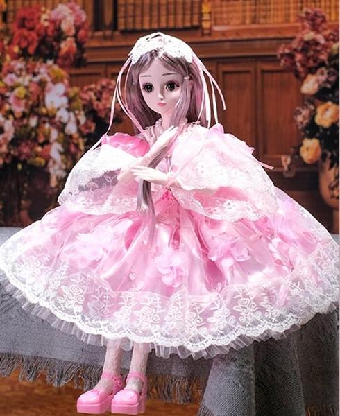 芭比娃娃 60厘米芭比丹路超大號智能洋娃娃公主套裝仿真精致女孩單個TW【快速出貨八折搶購】