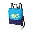 Asics 後背包 2 Way Bag 藍 黃 男女款 手提 兩用 運動休閒 【PUMP306】 3193A100-400
