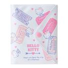 【震撼精品百貨】Hello Kitty_凱蒂貓~花漾旅行系列PVC護照收納套#76203