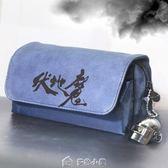 大容量筆袋簡約創意帆布鉛筆盒男孩韓國版男生高中學生大學生用品 多色小屋