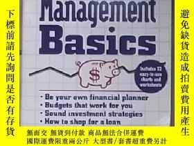 二手書博民逛書店英文原版罕見Money Management Basics by