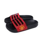 adidas Manchester United 拖鞋 運動型 黑/紅 男鞋 FW7072 no925