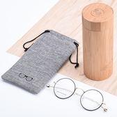 眼鏡盒竹制眼鏡盒女韓國小清新簡約復古創意眼鏡桶個性男 貝芙莉女鞋