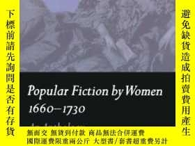 二手書博民逛書店Popular罕見Fiction By Women 1660-1