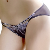 【LADY】夢幻城堡系列 低腰三角褲(神秘紫)