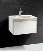 (修易生活館) 凱撒衛浴 CAESAR 面盆浴櫃組系列 一體瓷盆 LF5024 D 浴櫃 EH661 (不含龍頭)