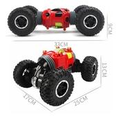 超大號遙控汽車扭變越野四驅攀爬車雙面特技變形充電兒童男孩玩具WY【免運】