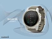 【時間道】GARMIN -預購- fenix® 5S 輕量美型複合式戶外GPS智能腕錶-藍寶石香檳金 免運費