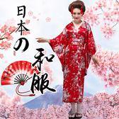 【限時下殺79折】女情趣睡衣性感櫻花中長版和服情趣日系和服表演寫真服飾