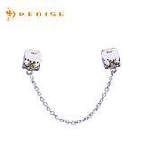 925純銀「心扣II」夢幻百變手鍊-珠墜系列銀飾/珠寶銀飾禮品/情人禮物