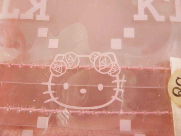 【震撼精品百貨】Hello Kitty 凱蒂貓-凱蒂貓皮夾/短夾-粉花字母