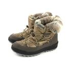 Grünland  靴子 雪靴 內鋪毛 保暖 金色 女鞋 DO0282 no026