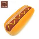 芥末醬款【日本進口】熱狗麵包 捏捏吊飾 吊飾 捏捏樂 軟軟 cafe de n squishy 捏捏 - 617538