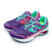 LIKA夢 LOTTO 專業碟型避震科技慢跑鞋 Syn-Pulse Ⅲ 系列 紫羅藍 3536 女