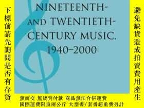 二手書博民逛書店Analyses罕見Of Nineteenth- And Twentieth-century Music, 194