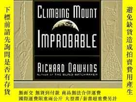 二手書博民逛書店Climbing罕見Mount Improbable攀登不可及山
