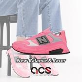 New Balance 休閒鞋 X-Racer 粉紅 灰 女鞋 運動鞋 【ACS】 WSXRCHFAB