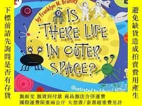 二手書博民逛書店Is罕見There Life In Outer Space?Y255562 Branley, Franklyn