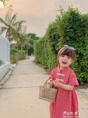 童裝女童洋裝兒童復古公主裙寶寶洋氣長裙子 伊莎gz