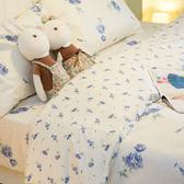 【預購】藍莓花園  S3 單人床包與雙人新式兩用被4件組  100%精梳棉  台灣製