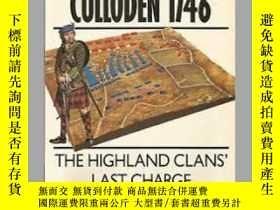 二手書博民逛書店CULLODEN罕見1746 campaign 12 (damaged)-CULLODEN 1746戰役12(損壞