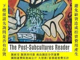 二手書博民逛書店The罕見Post-subcultures ReaderY364682 Muggleton, David; W