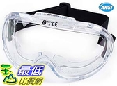[9美國直購] 防疫眼罩 護目鏡 安全眼鏡 (1 Pc) Troy Safety RK-GG201 Heavy duty Industrial Protective