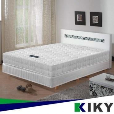 【KIKY】二代韓式克萊兒高碳鋼彈簧床墊-單人加大3.5尺